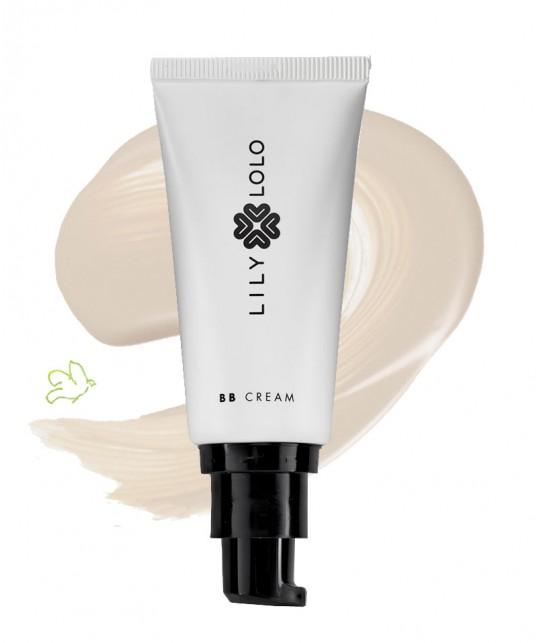 Lily Lolo BB Creme Naturelle fair maquillage minéral  hydratant végétal bio cosmétique peau sensible teint