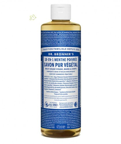 Dr. Bronner's - Organic Liquid Soap Peppermint 475ml