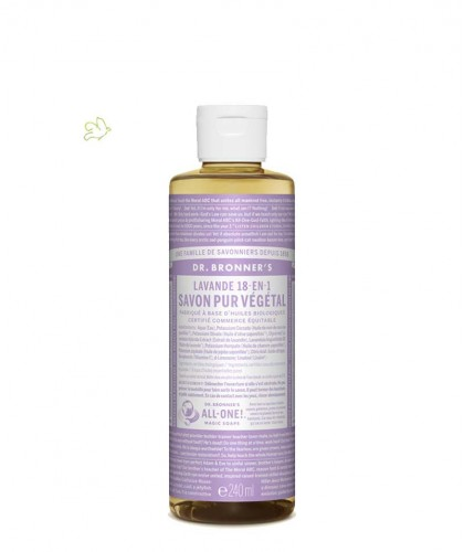 Dr. Bronner Organic Liquid Soap Lavender 240ml - 8 oz.