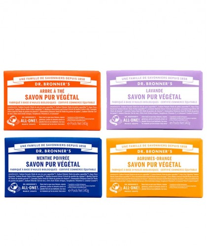 Dr. Bronner's - Bar Soaps reine Naturseife Fair Trade vegan All-One magic