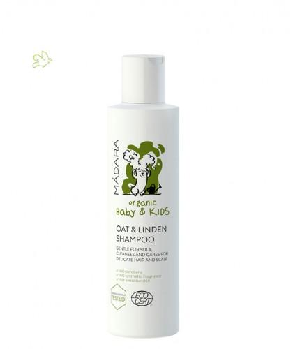 MADARA Oat & Linden Flower Shampoo Baby & Kids organic cosmetics