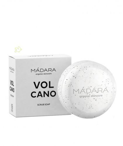 Madara cosmetics VOLCANO Peeling Seife Scrub Soap Hand und Körperseife