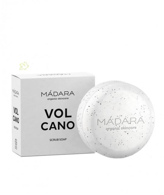 Madara cosmétique Savon Exfoliant bio VOLCANO