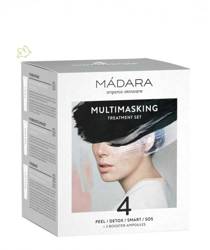 Madara cosmetics Multitasking Treatment Set 4 Gesichtsmasken Naturkosmetik
