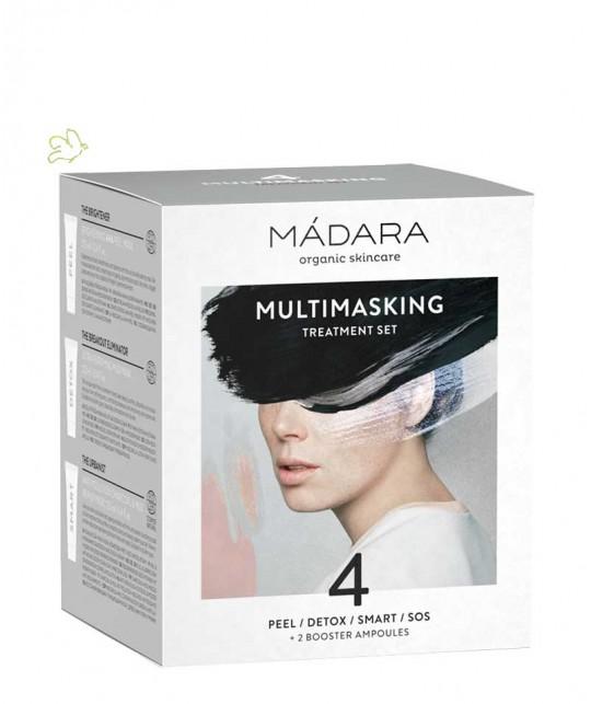 Madara cosmetics - Multitasking Treatment Set organic masks