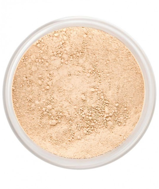 LILY LOLO Mineral Foundation SPF 15 Barely Buff natural cosmetics