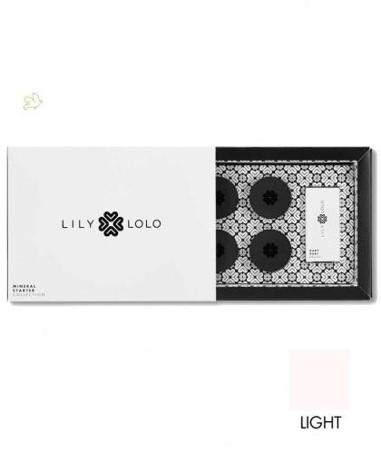 Lily Lolo maquillage minéral Mini Kit Fond de Teint poudre libre Starter Collection Découverte teint clair tester choisir teinte