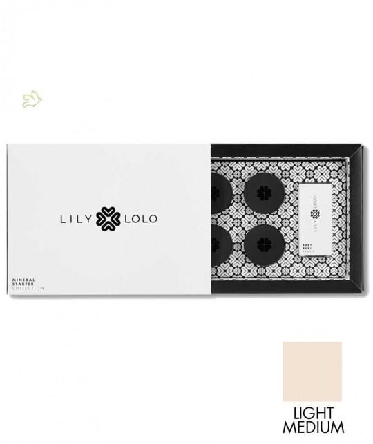 Lily Lolo - Mini Kit Fond de Teint Minéral Starter Collection teint moyen clair