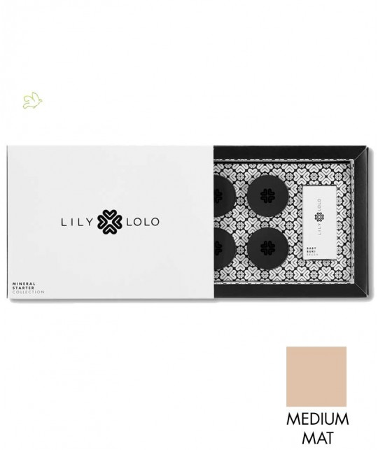 Lily Lolo - Mini Kit Fond de Teint Minéral Starter Collection teint mat