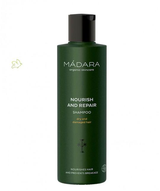 MADARA cosmétique Shampooing bio Nourrissant & Réparateur