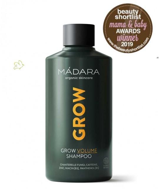 MADARA Shampooing bio GROW Volume & Croissance