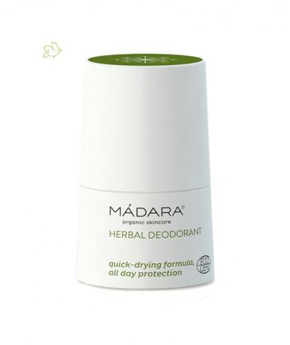 MADARA Déodorant bio aux Plantes anti-bactérien roll on