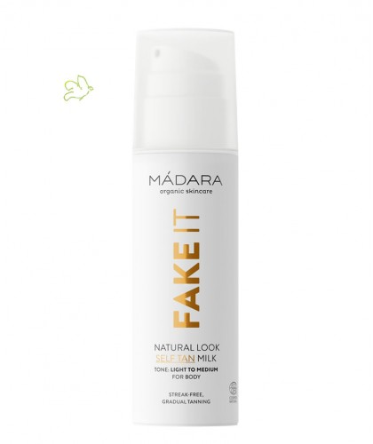 MADARA cosmetics FAKE IT Natural Look Self Tan Milk