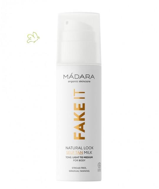 MADARA cosmetics FAKE IT Natural Look Self Tan Milk