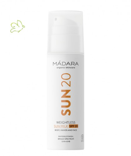 MADARA cosmetics Sonnenmilch Weightless SPF 20