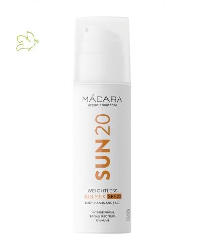MADARA cosmetics Sonnenmilch Weightless SPF 20