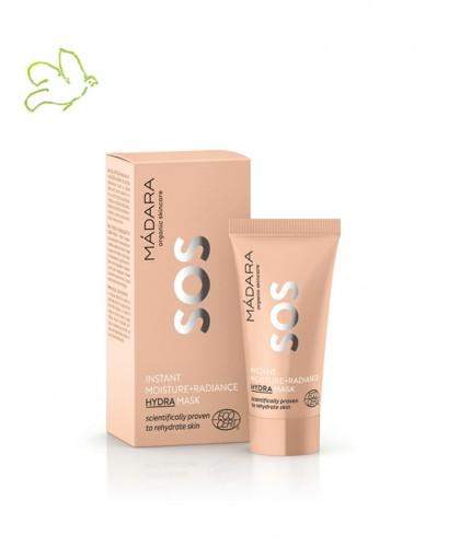 Madara organic cosmetics SOS Hydra Mask Moisture + Radiance 12,5ml