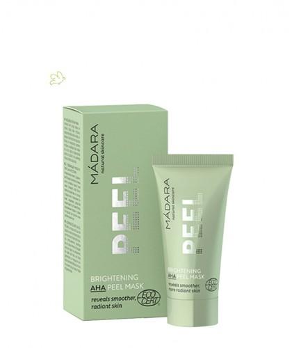 Madara Masque visage Peeling Eclat aux AHA mini 12,5ml cosmétique bio -
