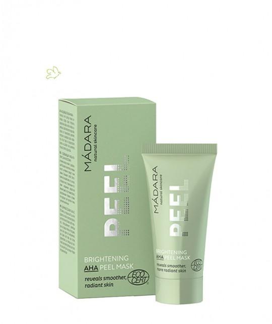 Madara organic cosmetics Brightening AHA Peel Mask travel size