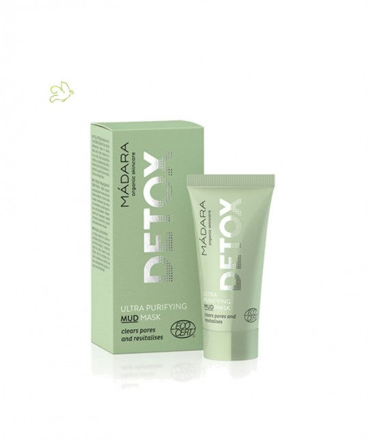 Madara cosmétique bio Masque visage Ultra Purifiant Detox (mini tube 12,5ml)