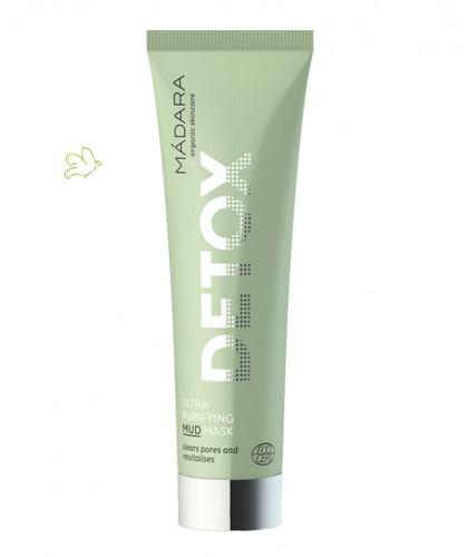 Madara Masque bio Ultra Purifiant Detox tube peau acnéique cosmétique