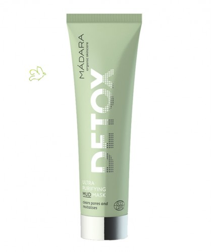 MADARA Ultra Purifying Mud Mask Detox Gesichtsmaske 60ml