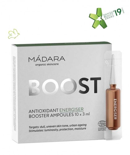Madara cosmetics Ampoules Antioxidant Energizer BOOST 10 x 3ml