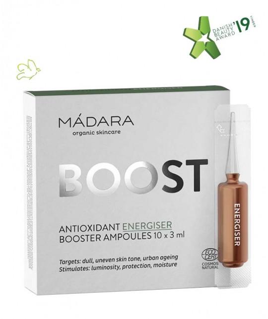 Madara cosmetics Ampoules Antioxidant Energizer BOOST 10 x 3ml