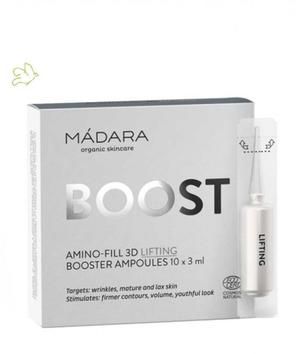 Madara Ampoules Amino-Fill 3D Lifting bio BOOST cure de soin