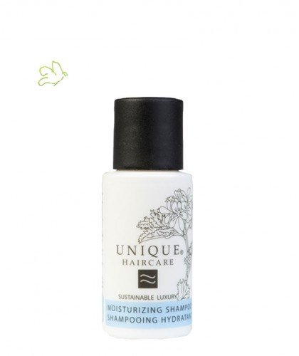 UNIQUE HAIRCARE Moisturizing Shampoo cornflower 50ml organic mini travel size