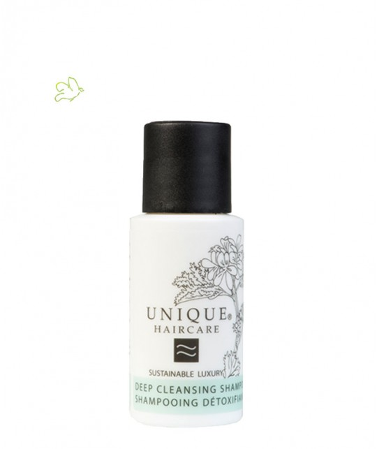 UNIQUE Haircare Deep Cleansing Shampoo cornflower 50ml