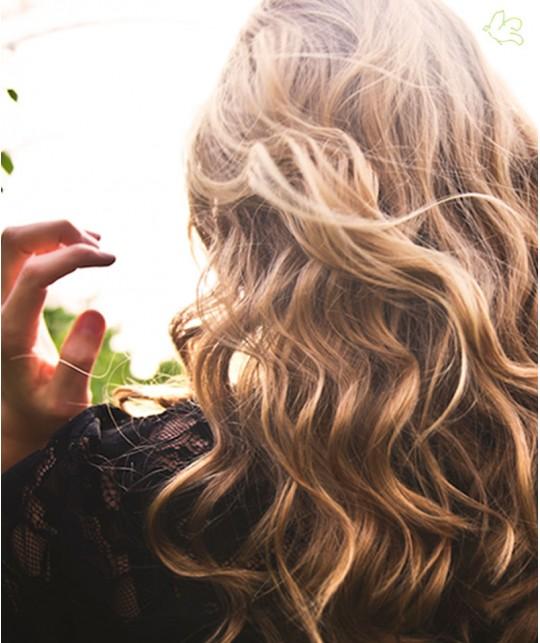 UNIQUE Haircare Tiefenreinigendes Bio Shampoo Kornblume 50ml mini Naturkosmetik