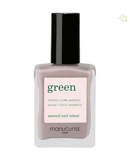Manucurist Paris Nail Polish GREEN Grey Agata