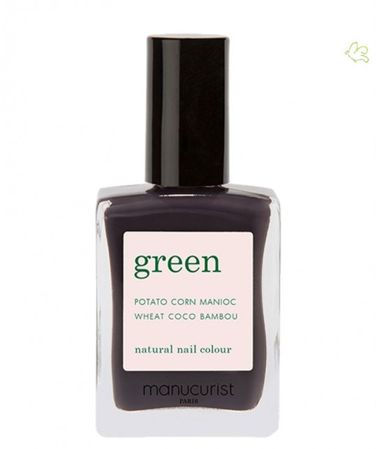 Manucurist Nail Polish GREEN Queen of Night purple vegan natural cruelty free
