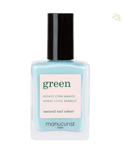 Manucurist Nagellack GREEN Seagreen vegan 9free