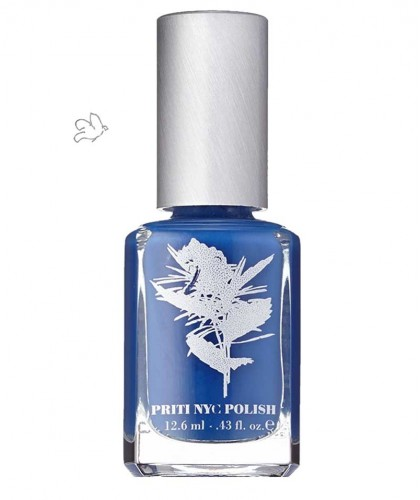 Priti NYC - Vernis Naturel non-toxique Californian Bluebell bleu