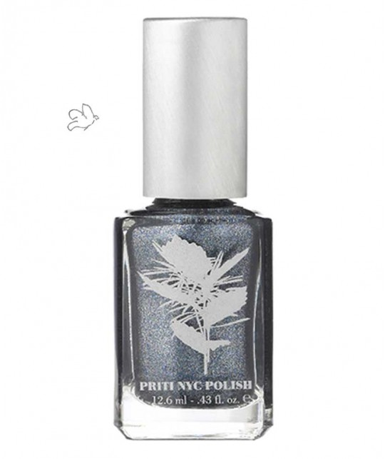 PRITI NYC Nail Polish 594 Pewter Veil