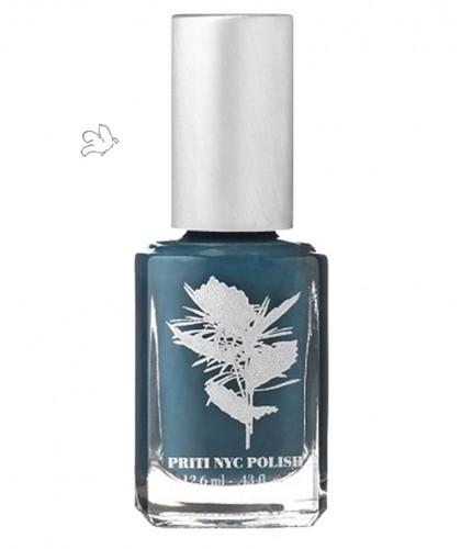 Priti NYC Natural Nail Polish 647 Sea Holly