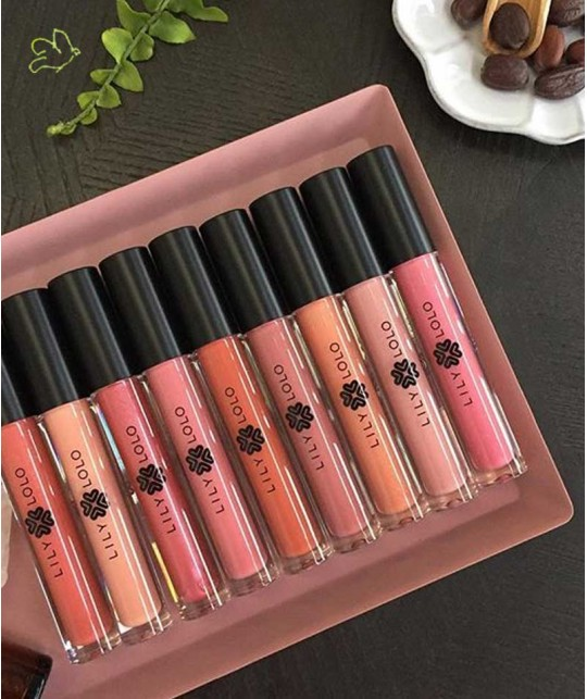 Lily Lolo Natural Lip Gloss swatch cosmetics clean beauty