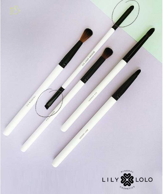 Makeup Pinsel Lily Lolo - Dual-Funktionspinsel Augen Eye Detail & Smudge Brush mineral cosmetics natural beauty