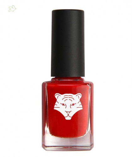 ALL TIGERS Vernis naturel & vegan ROUGE 298 9 free bio beauté