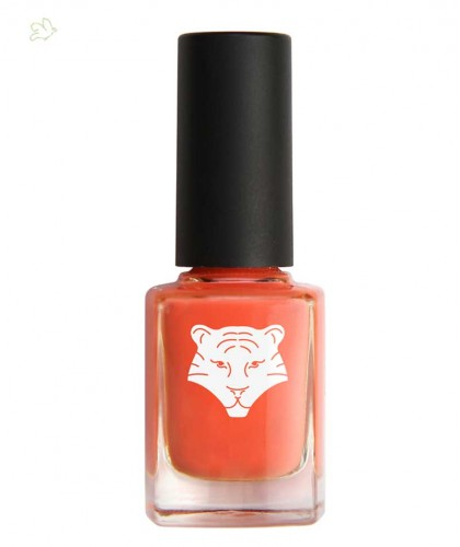 ALL TIGERS Nail Lacquer natural & vegan ORANGE CORAL 195