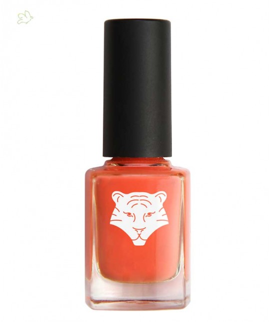 ALL TIGERS Öko Nagellack natürlich & vegan KORALLEN-ORANGE 195