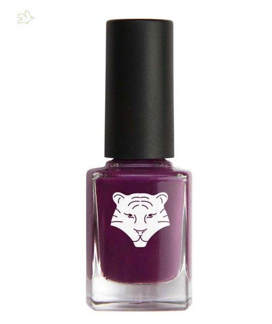 Green Nail Lacquer ALL TIGERS purple natural & vegan 299 organic beauty