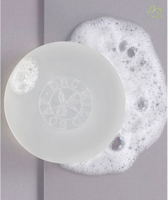 DHC Skincare Mild Soap texture
