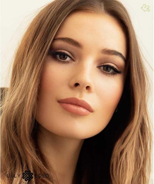 Lily Lolo Natural Lipstick Lippenstift Nude Allure swatch
