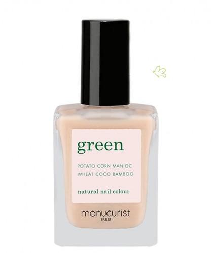 Manucurist Nail Polish GREEN Nude natural color vegan