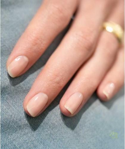 Manucurist Nail Polish GREEN Nude natural color vegan swatch manicure