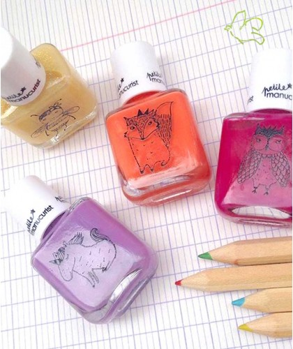 Petite Manucurist Kid Safe Nail Polish non toxic color made in France