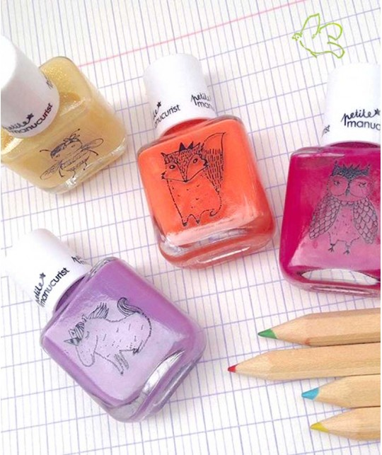 Petite Manucurist Kid Safe Nail Polish non toxique made in France